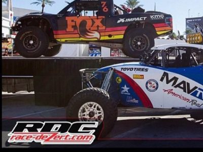 First start in Baja 1000 will end Stronghold's season