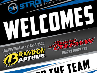 "Stronghold Motorsports Creates ""Super Team"" For 2017"