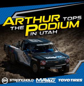 Arthur Tops the Podium in Utah | Stronghold Motorsports